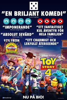 Toy Story 4 (Eng. tal)
